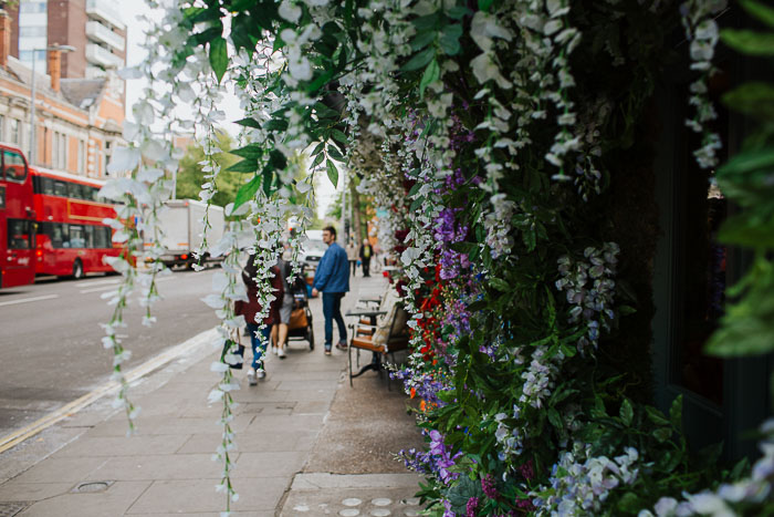 Chelsea flower show 2017, chelsea, Creative florist, Early Hours Londo*, Floral Installations, kings road, London florist, London in bloom, London, The Ivy Chelsea Gardens