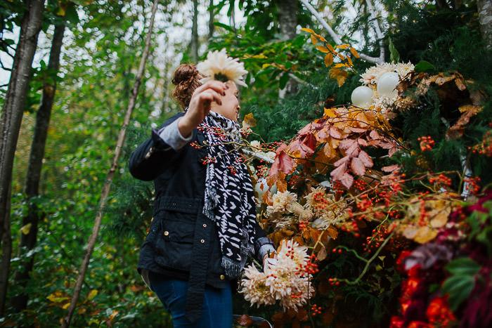 autumn blooms, autumn brides, autumn colours, autumn floral installation, autumn flowers, autumn wedding inspiration, creative london florist, Early Hours London, gourds, halloween flowers, halloween installation, harvest flowers, harvest time, london floral installation, London florist, pumpkins, woodland floral installation