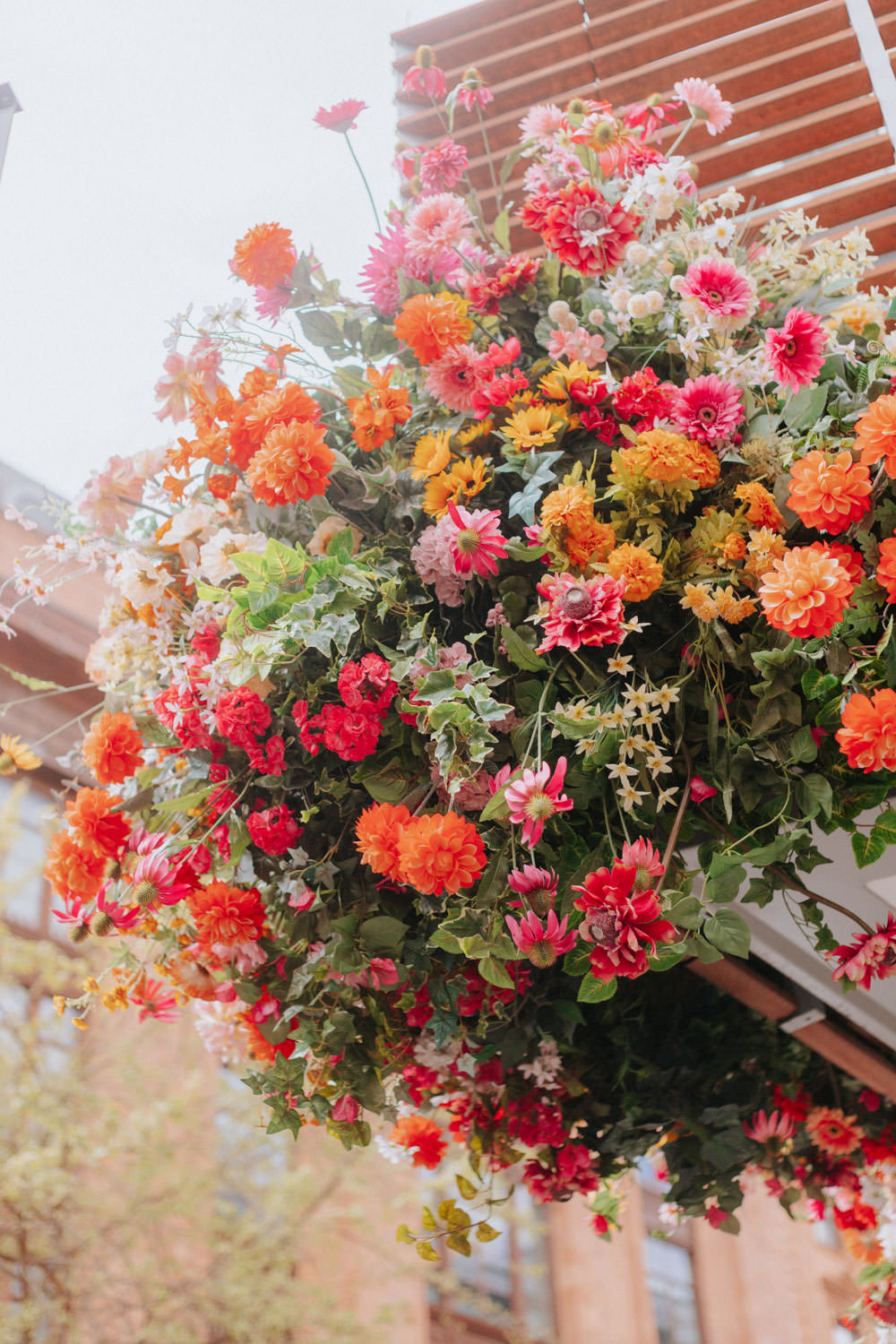 Early Hours London - Summer floral installations in London