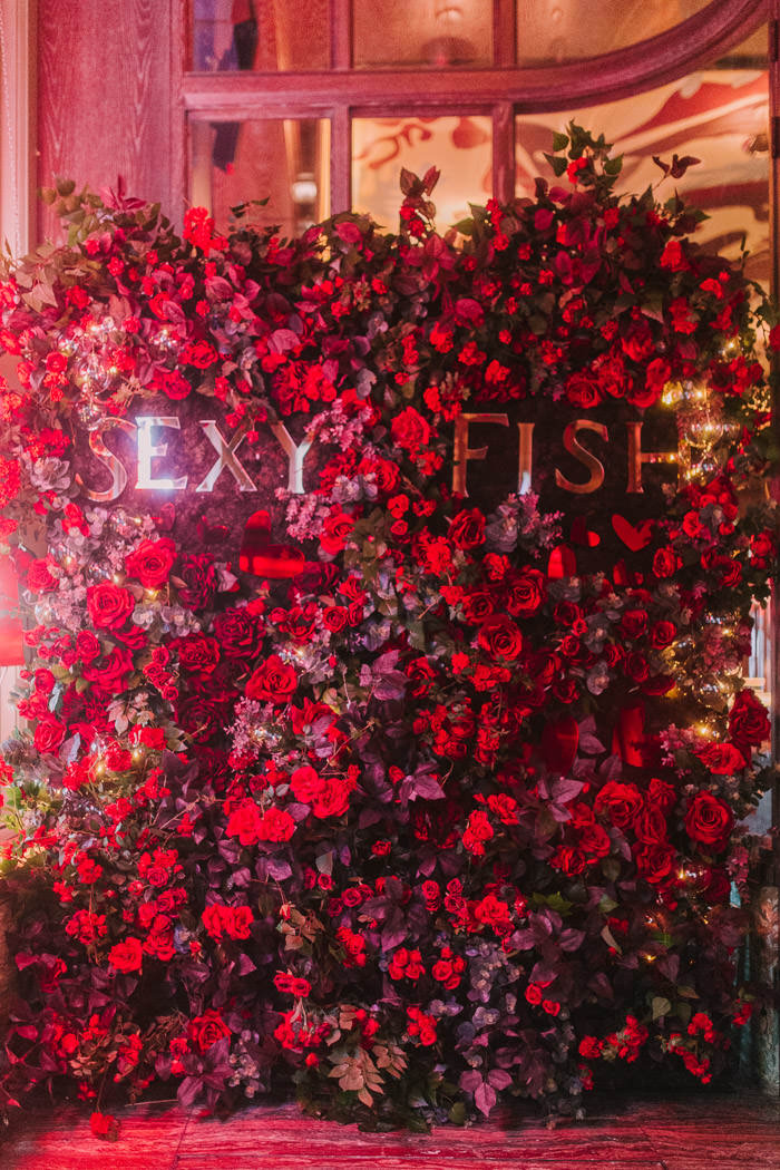Valentines Floral Installations Across London Early