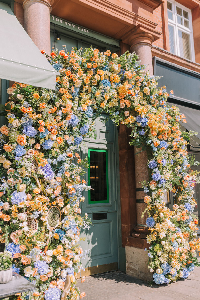 creative event florals, creative wedding. flowers, Early Hours London, Floral installations, london event florist, london florist, london flowers, london instagrammable places, london wedding florist, summer florals, summer flower inspiration